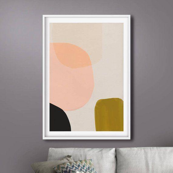 Dan Hobday Art Large Abstract Painting