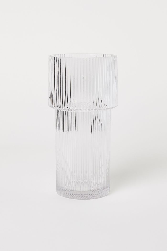 H&M Large Glass Vase