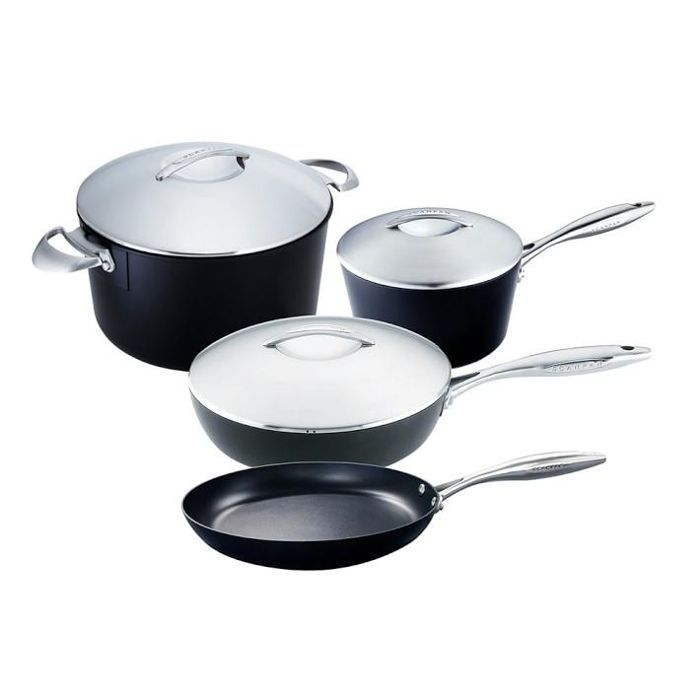 Scanpan Professional Nonstick 7-Piece Cookware Set