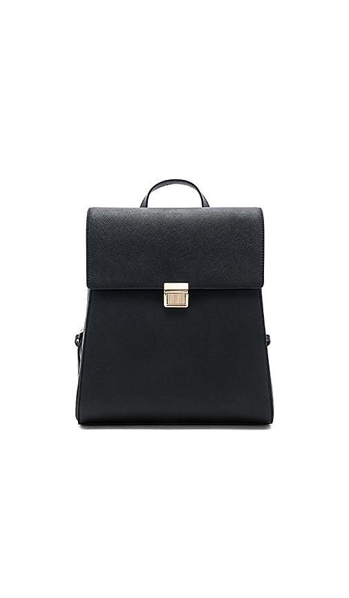 Structured Backpack in Black.