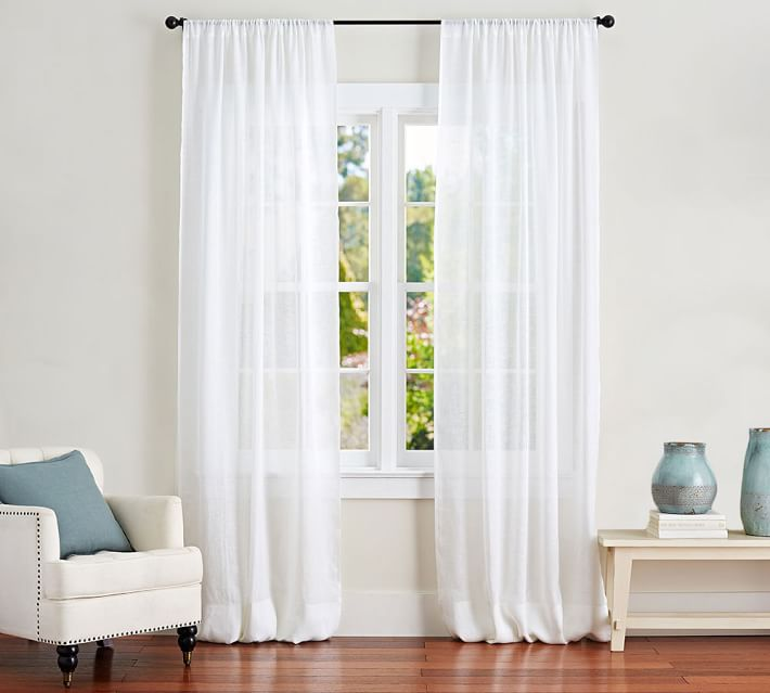 The 11 Best Curtains Of 2021, Long White Sheer Curtains