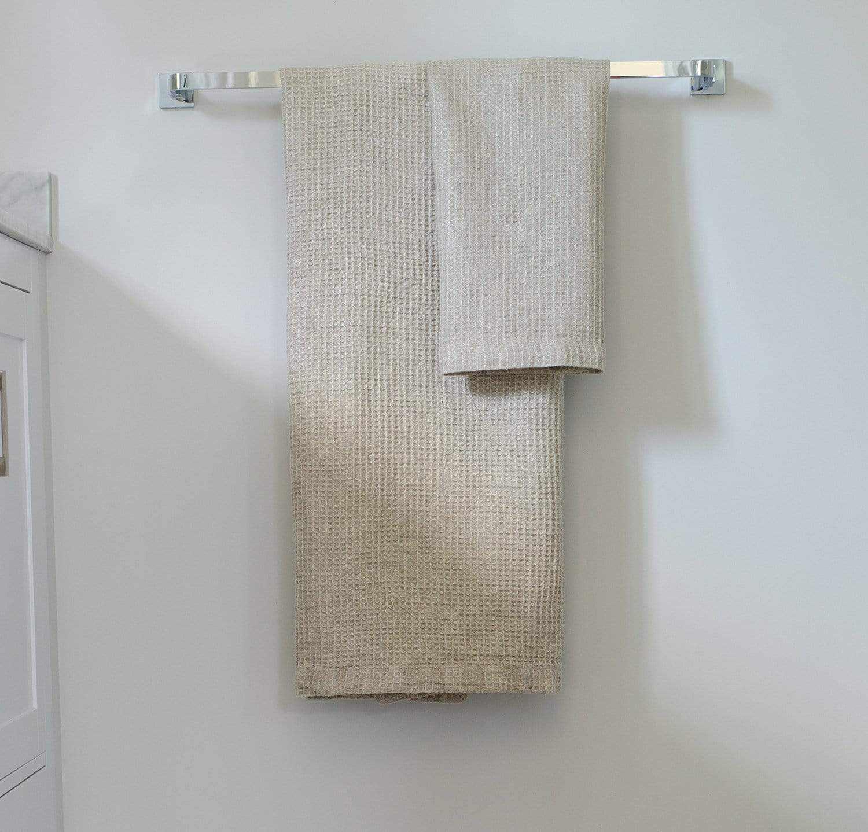 Waffle Linen Bath Towel