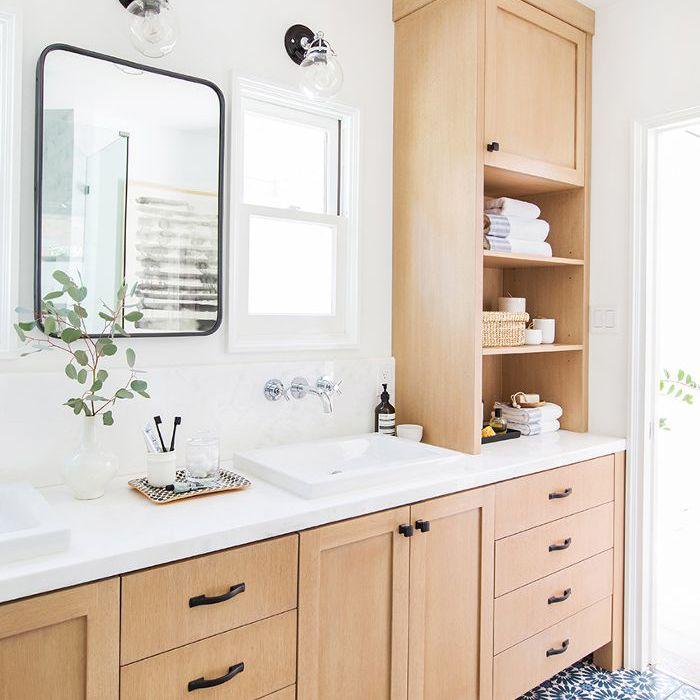 neutral bathroom design
