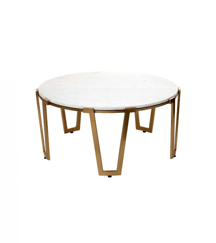 Nate Berkus for Target Marble & Gold Coffee Table