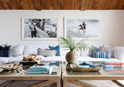 Malibu living room design