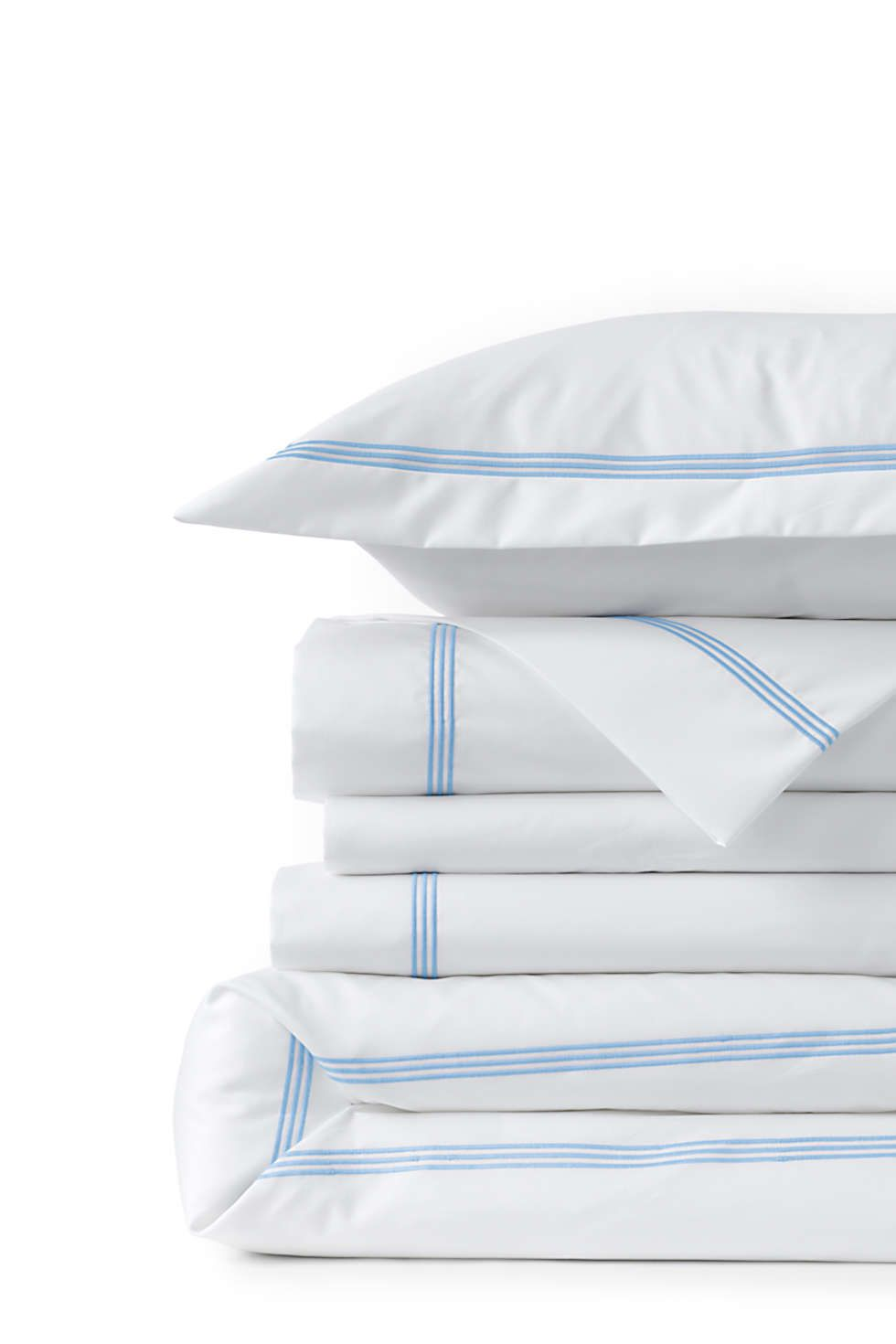 Sateen Embroidered Duvet Cover