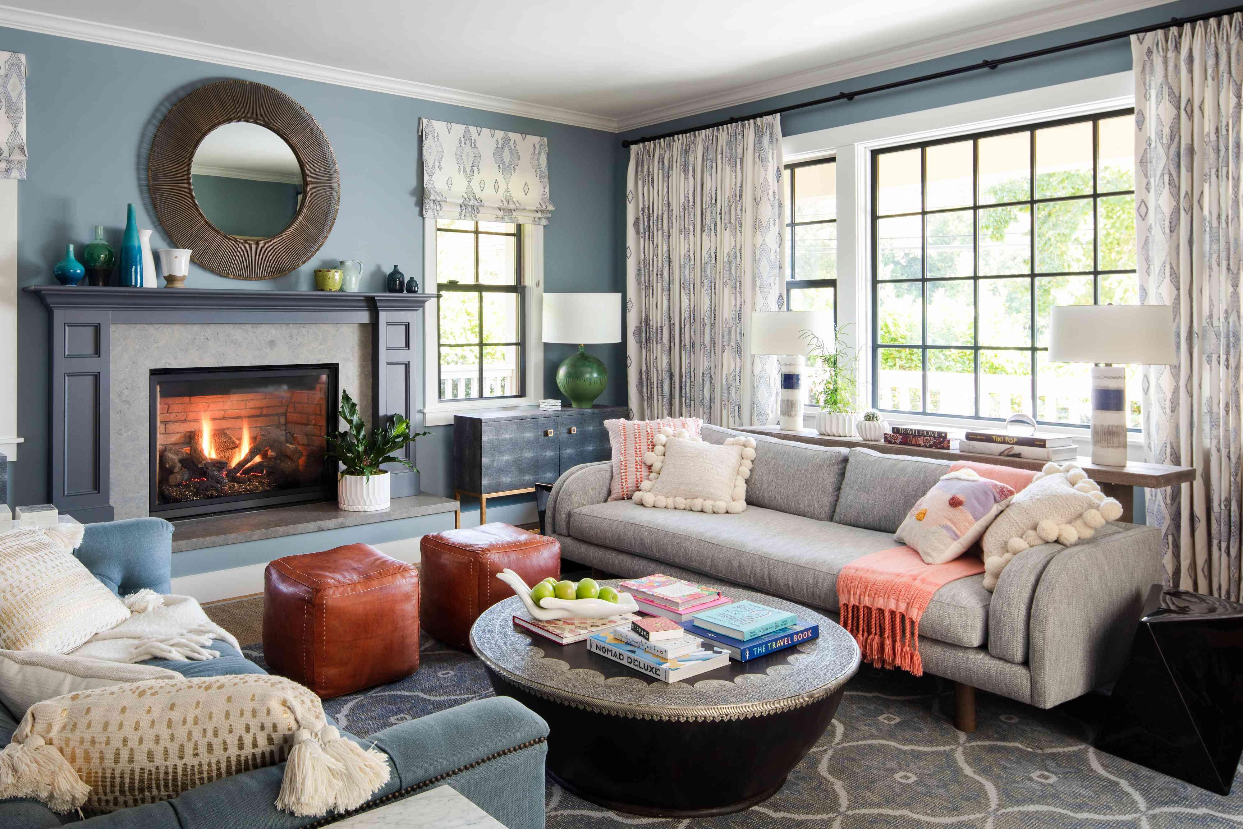 20 Best Living Room Window Treatment Ideas, Window Treatment Ideas For Living Room