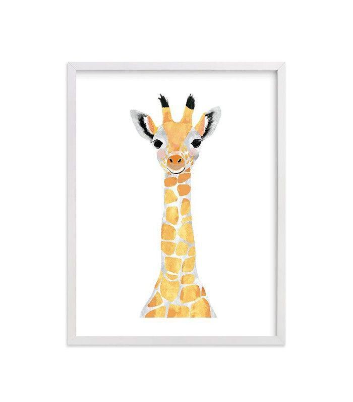 Cass Loh Baby Animal Jirafa Imprimir