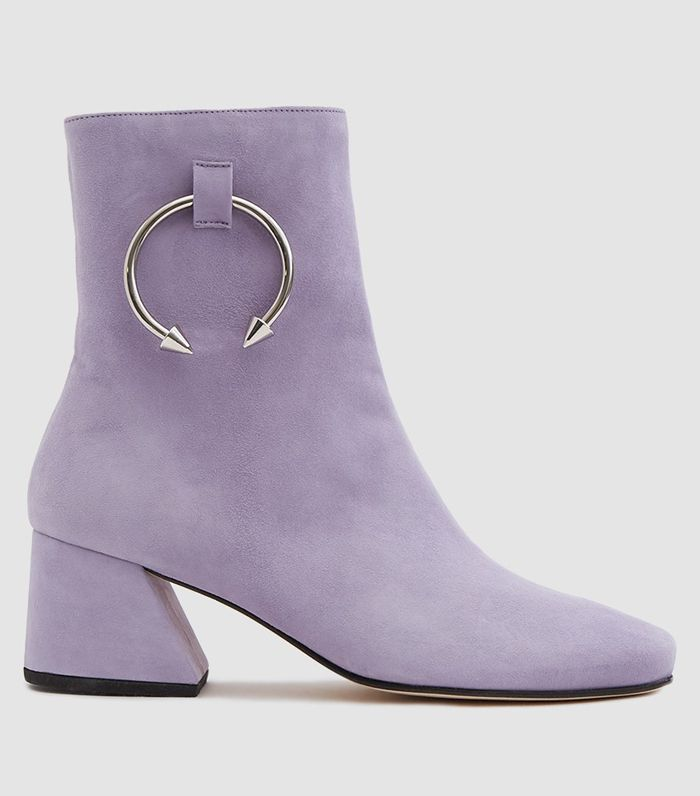Nizip II Ankle Boot in Violet