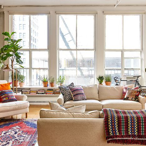 This Classic SoHo Loft Is Basically a Book Lover's Dream