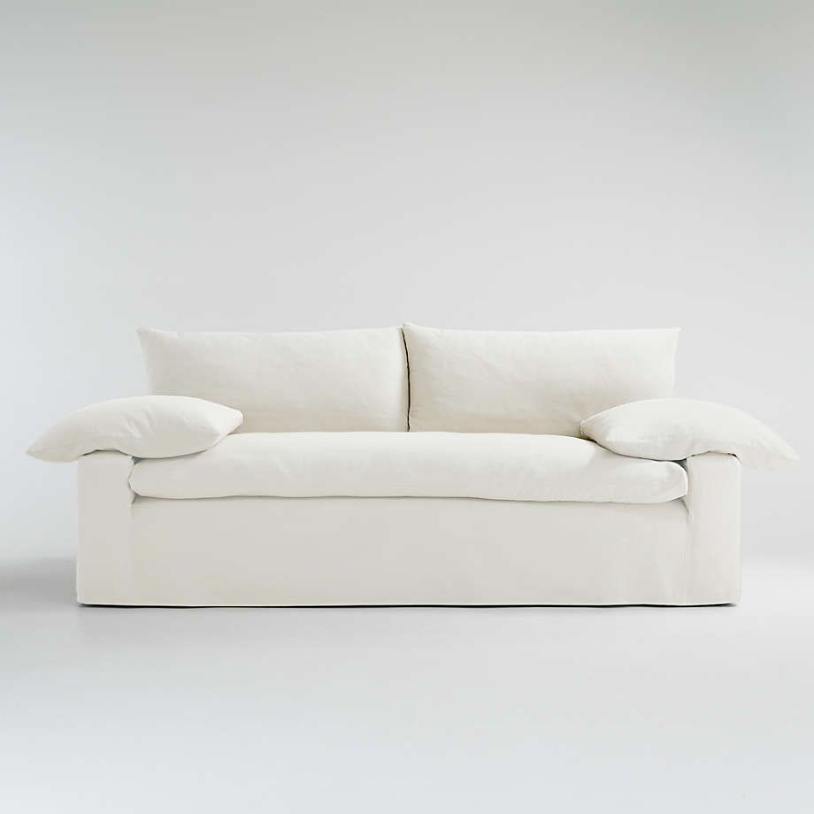 crate and barrel cloud couch dupe