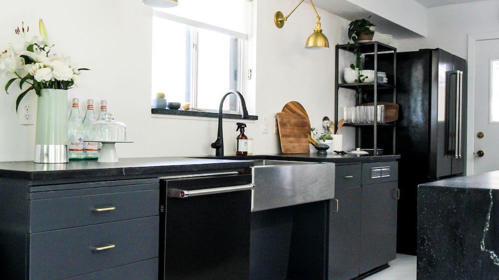 The 7 Best Kitchen Cabinet Paint Colors, Best Dark Gray Color For Kitchen Cabinets