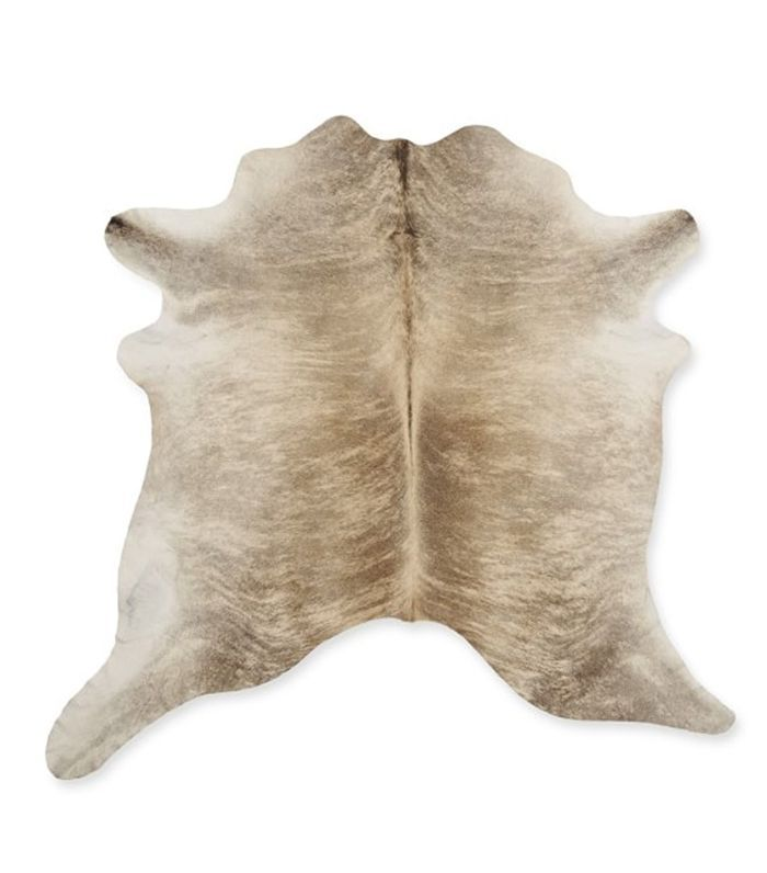 Williams Sonoma Solid Hair on Hide Rug