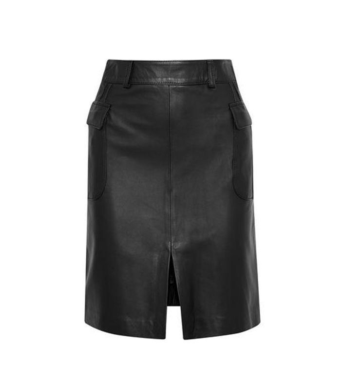 Patsy Leather Mini Skirt
