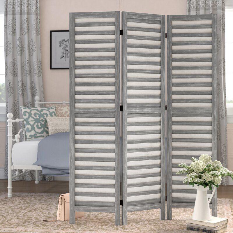 Bowersville 3-Panel Wood Folding Room Divider