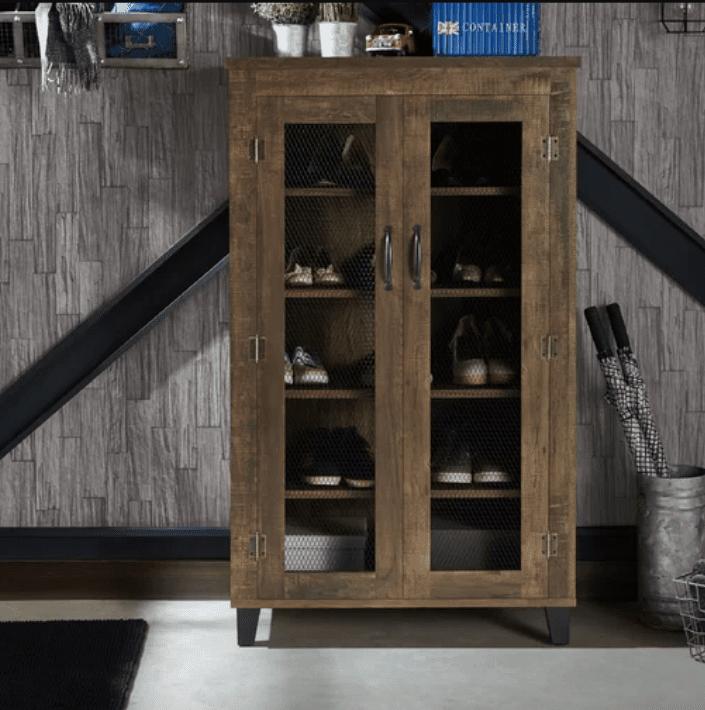 Birch Lane Dayana 20 Pair Shoe Storage Cabinet