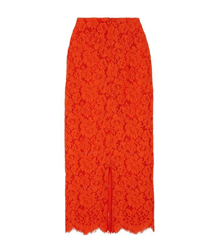 Jerome Lace Midi Skirt