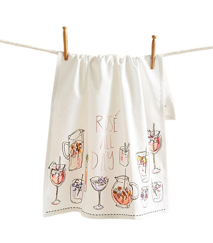 Rose All Day Dish Towel