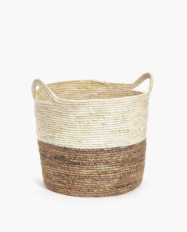 Two-Tone Basket—Entryway