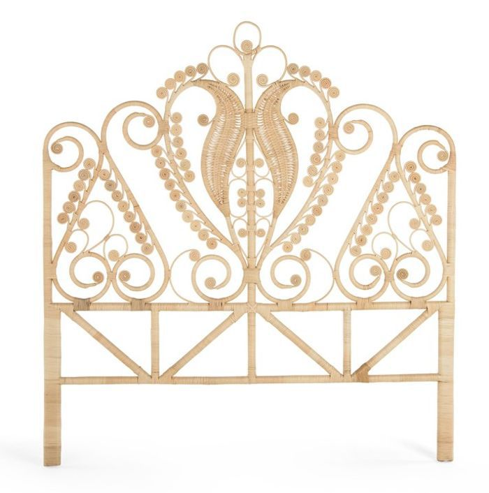 Mistana Patton Rattan Headboard