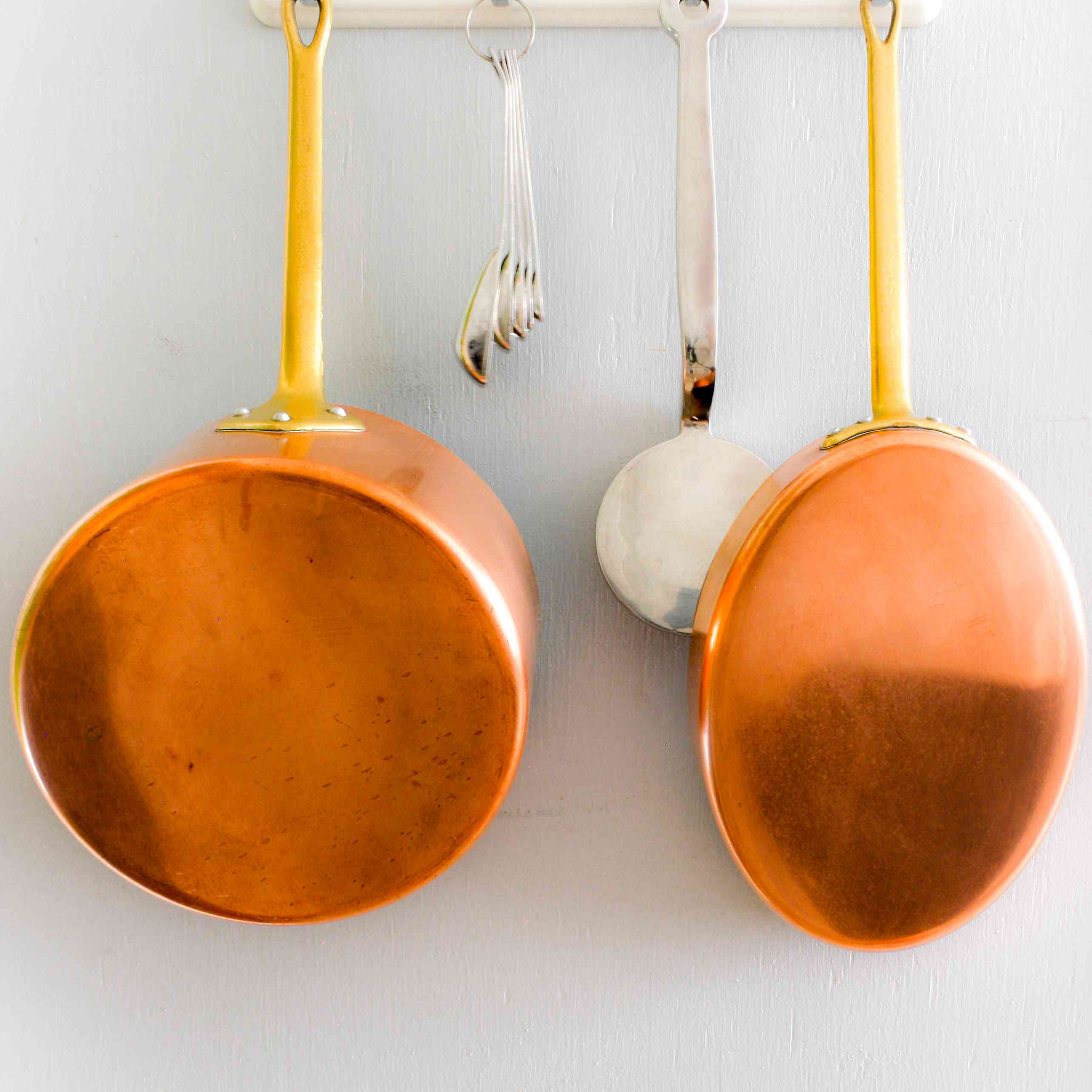 Copper pot and pan