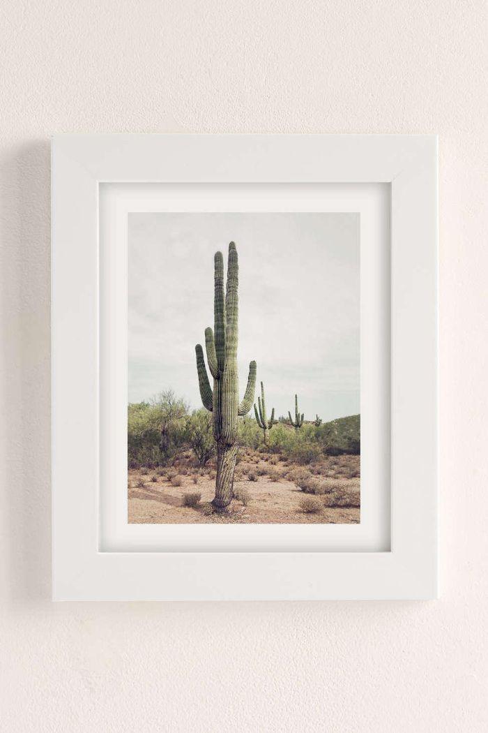 Sisi And Seb Cactus Land Art Print