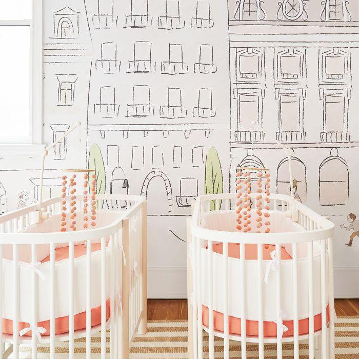 Nursery wallpaper