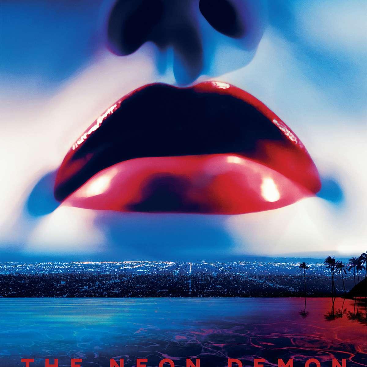 The Neon Demon (2016) movie poster.