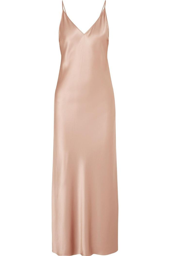 Clea Silk-satin Maxi Dress