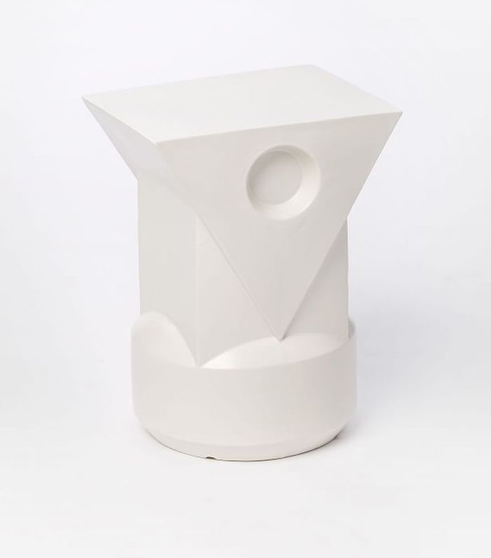 Sculptural Outdoor Modernist Totem