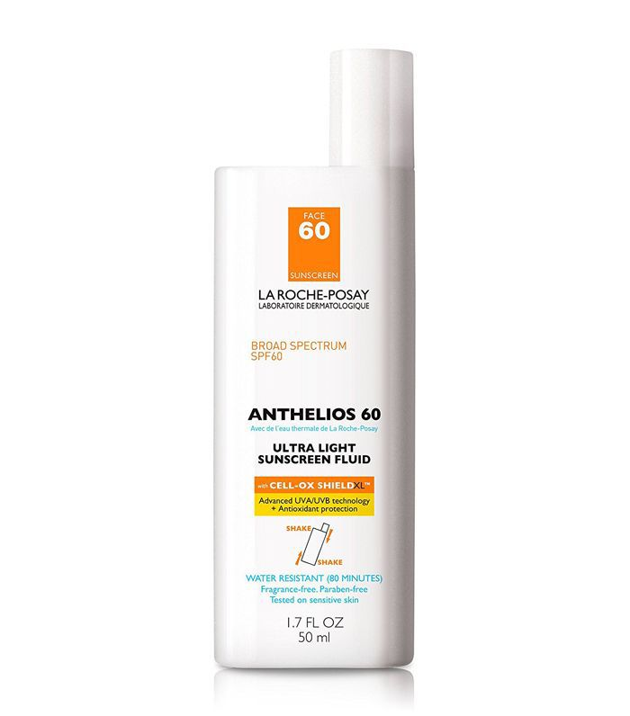 Anthelios 60 Ultra-Light Facial Sunscreen Fluid, Water Resistant with SPF 60, 1.7 Fl. Oz.
