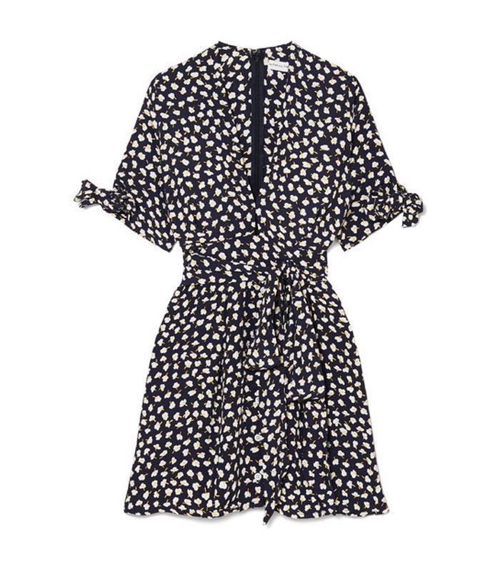 Birgit Floral-print Voile Mini Dress