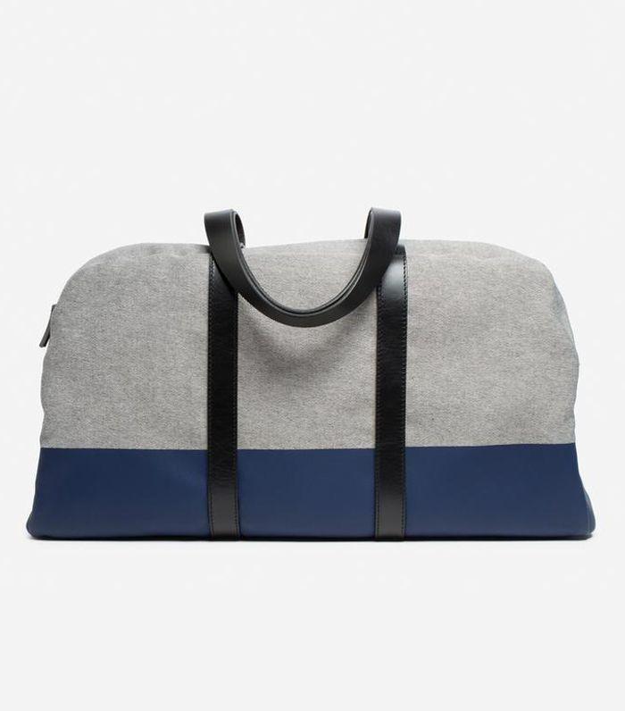 Women's Twill Weekender Bag by Everlane in Denim/Navy