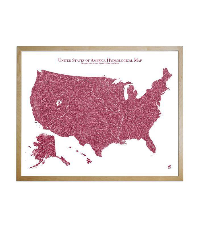 Muir Way Map of America