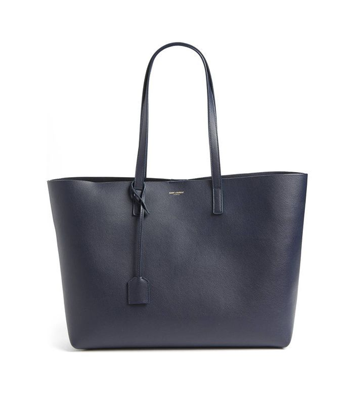 'Shopping' Leather Tote - Pink