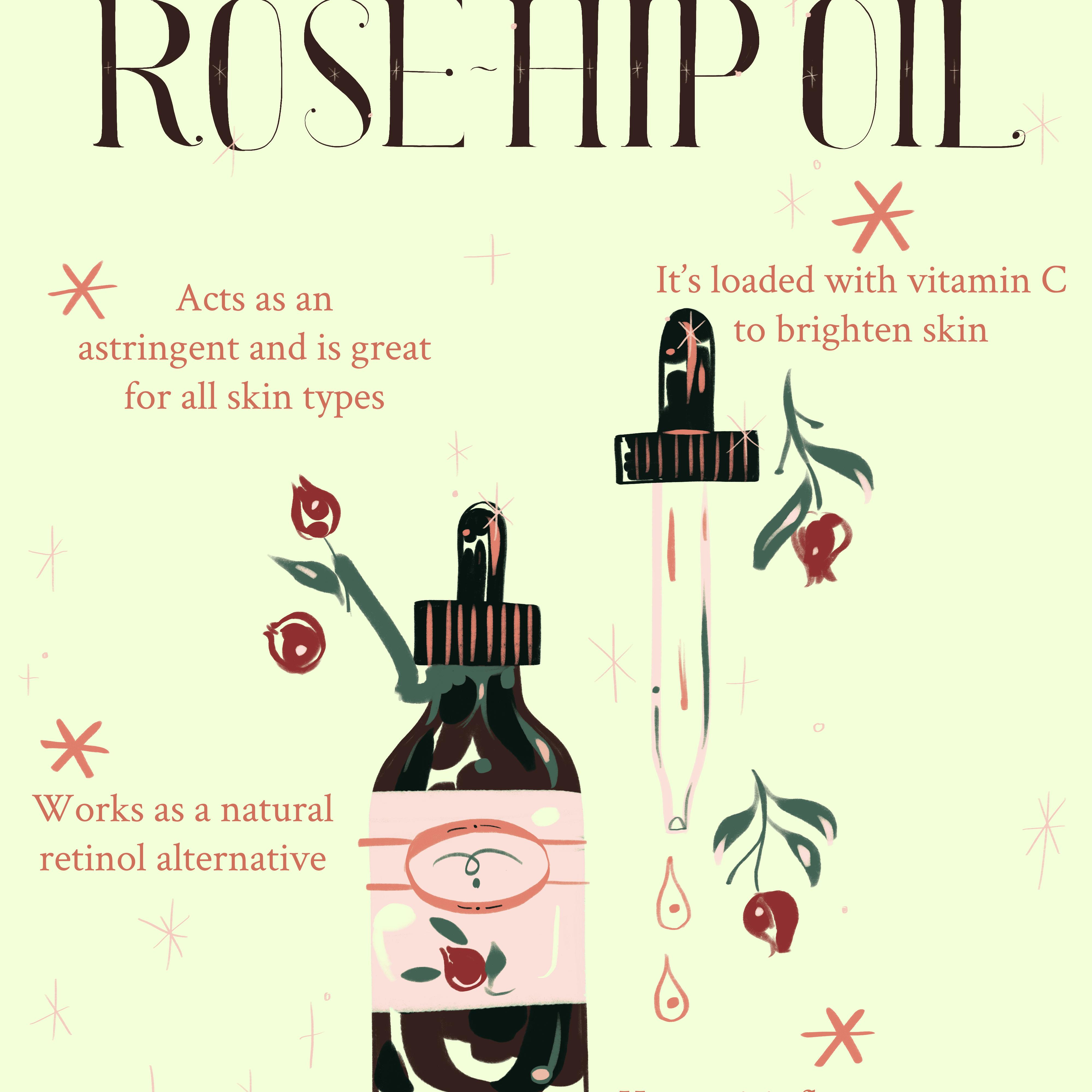 Benefits of Rose Hip Oil