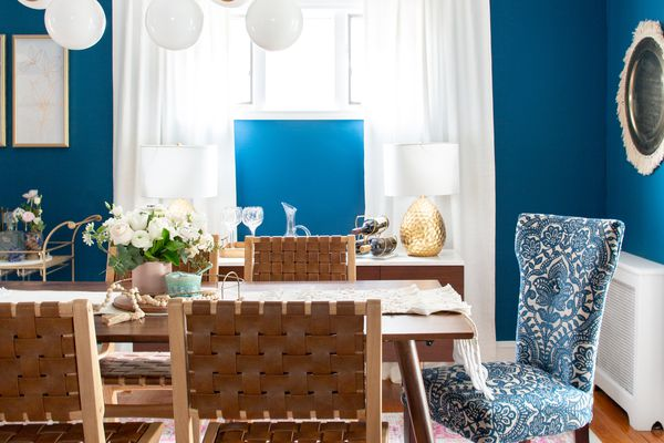 Midcentury dining room makeover
