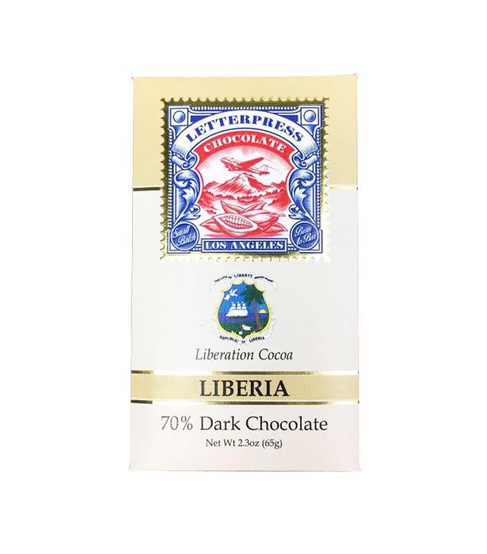 Letterpress Chocolate Liberia, Liberation Cocoa