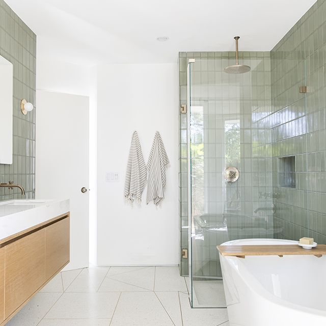 Modern Bathrooms Setting Ideas: 20 Bathroom Tile Ideas That Are All The Inspiration You Need