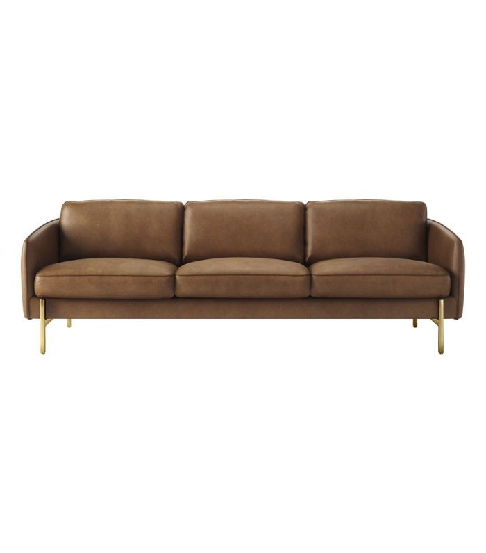 Hoxton Saddle Leather Sofa
