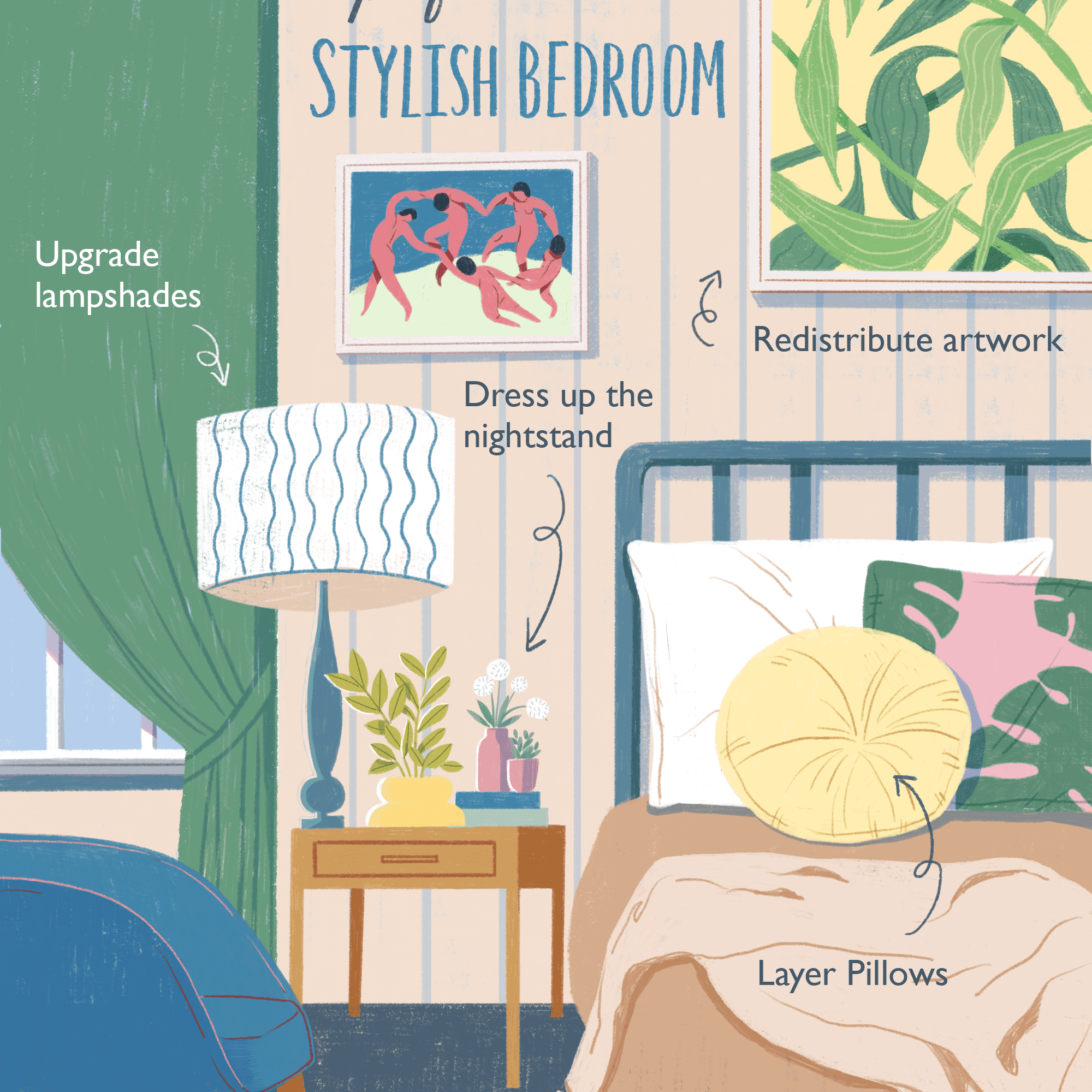 7 Tricks to Make Your Bedroom Look Expensive