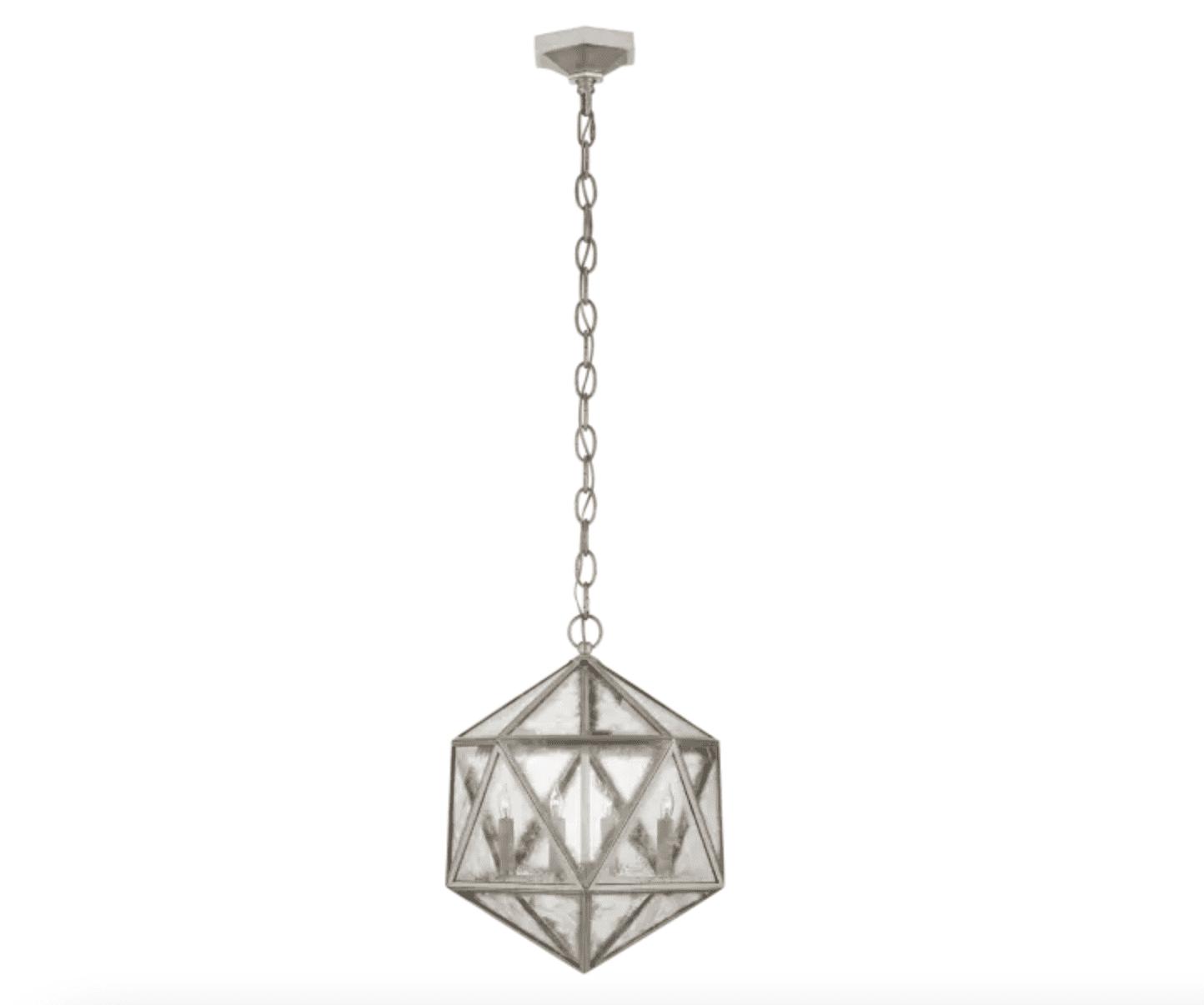 Zeno Medium 18 Facet Hedron Lantern