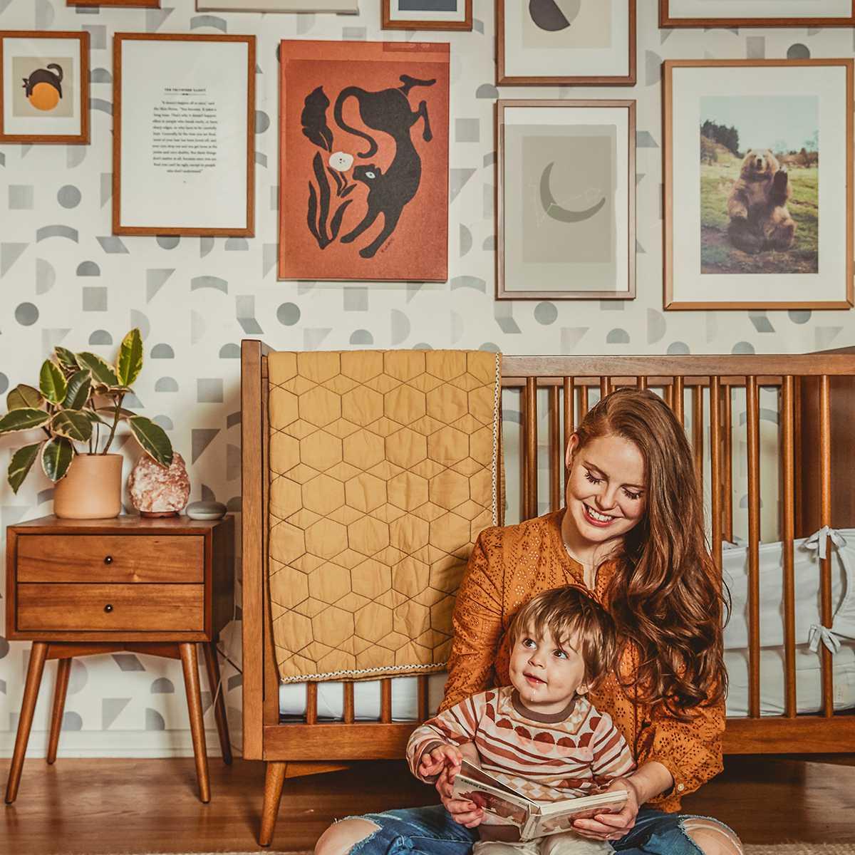 Claire Thomas: diseño de guardería de mediados de siglo