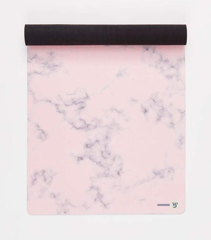 Blush Marble Yoga Mat