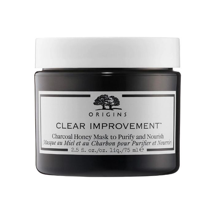 Clear Improvement(TM) Charcoal Honey Mask to Purify and Nourish 2.5 oz/ 75 mL