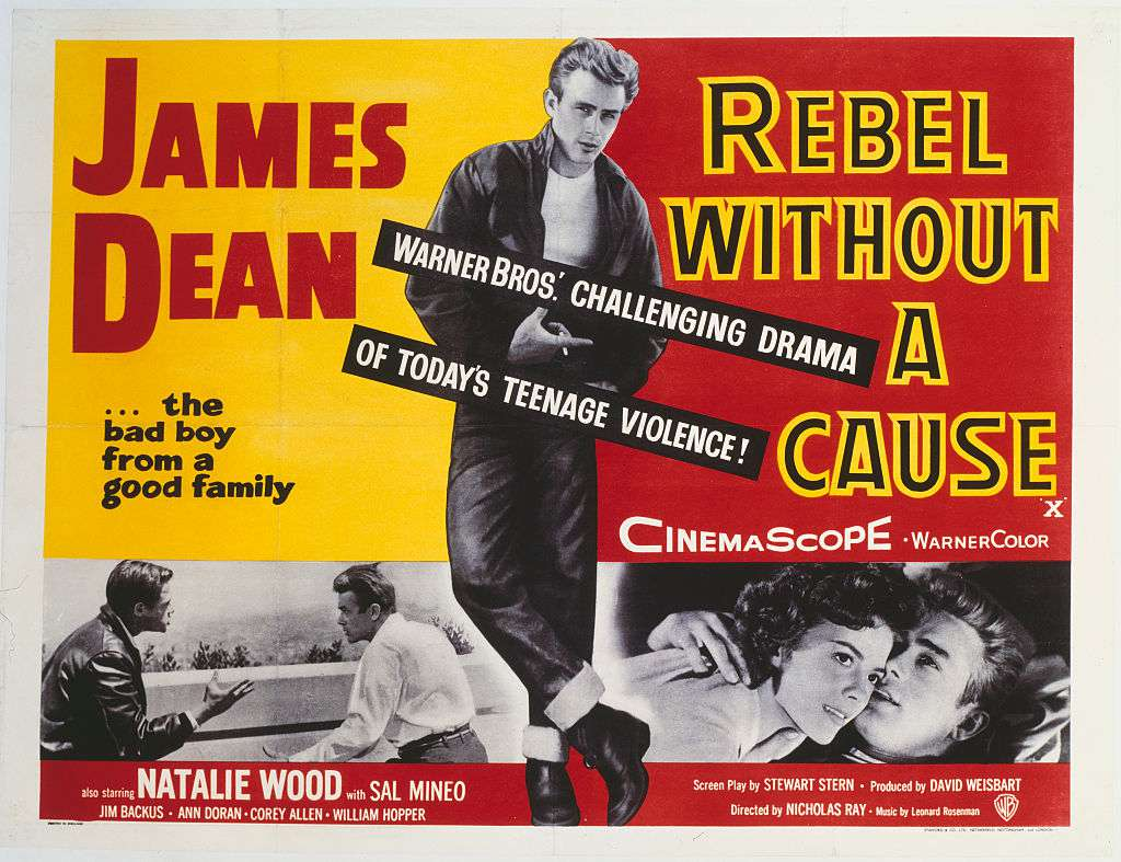 best black and white movies - rebel without a cause