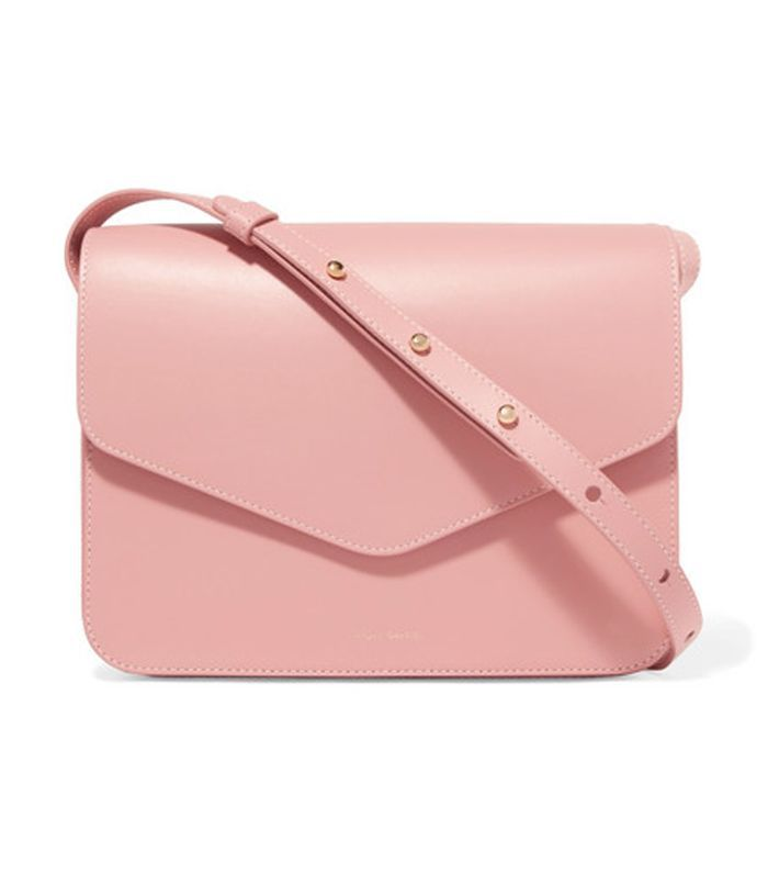 Envelope Leather Shoulder Bag
