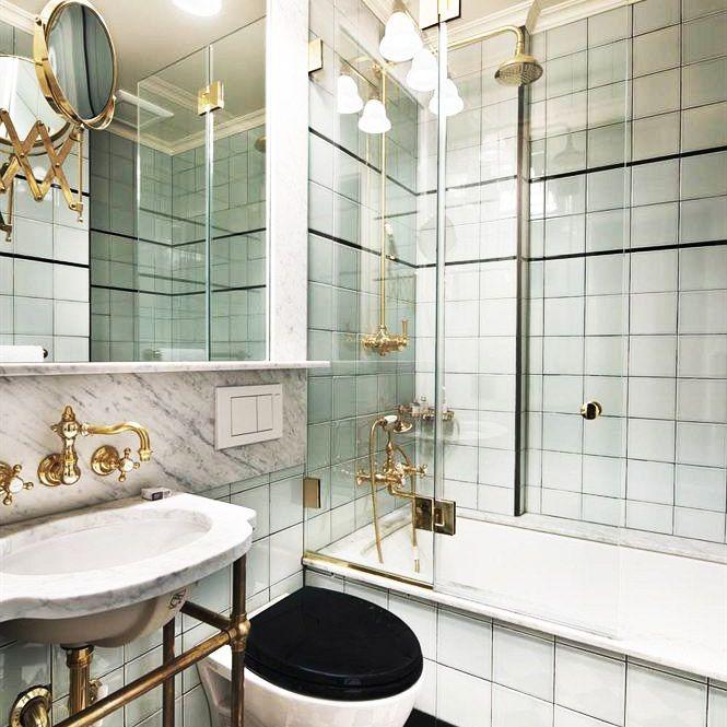 El baño del hotel Marlton