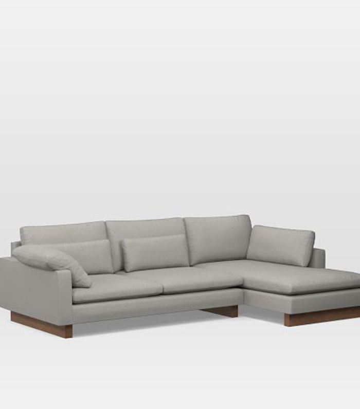 West Elm Harmony Down-Filled 2-Piece Chaise Sectional
