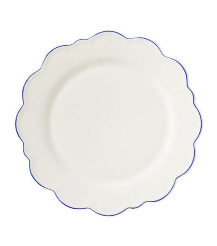 AERIN Scalloped Rim Dinner Plates